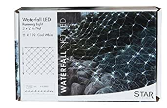 "Best Season - Meilleure Saison Led Power S'Allume ""Waterfall"", 192 Led Blanc Froid 487-04"