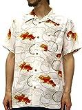 (スタイルバイオリジナルス) Style by Originals POWER JEANS VALUE アロハシャツ 半袖 シャツ レーヨン ハイビスカス 10color M 柄A