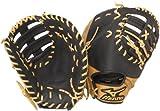 Mizuno World Win GXF75 Baseball Firstbase Mitt, Camel/Brown, 12.50-Inch, Right Handed Throw