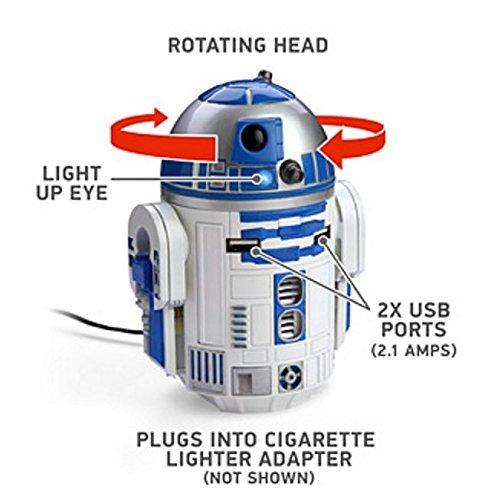スターウォーズ R2-D2 USB 車載充電器 iPhone, iPad, ...