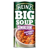 Heinz Big Soup Sausage & Vegetable 4x500g