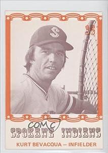 Kurt Bevacqua (Baseball Card) 1976 Spokane Indians Caruso #15 by Spokane Indians Caruso