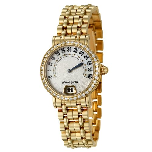 Gerald Genta Arena Contemporary Retro Women's Quartz Watch REC-S-20-448-B2BDS01