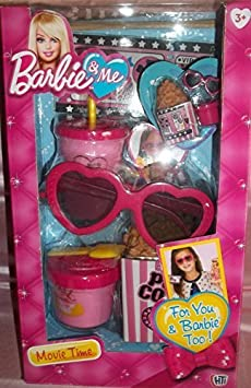Barbie and Me Movie Time Accessories by Mattel