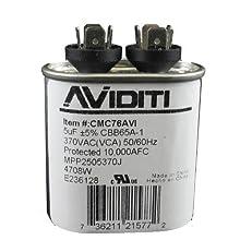 Aviditi 76AVI Capacitor, 5 Microfarad, 370-Volt