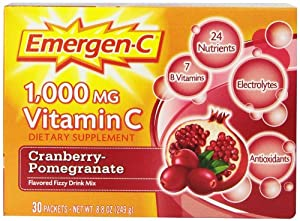 Emergen-C Cranberry Pomegranate, 30-count