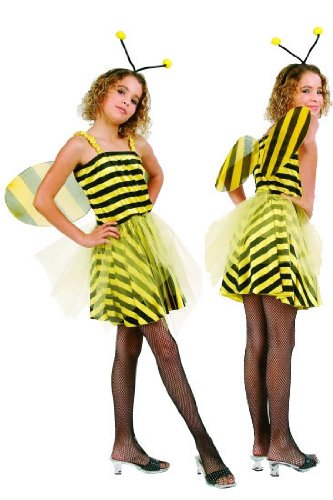 Child's Sweet Bumble Bee Costume Size Medium (8-10)