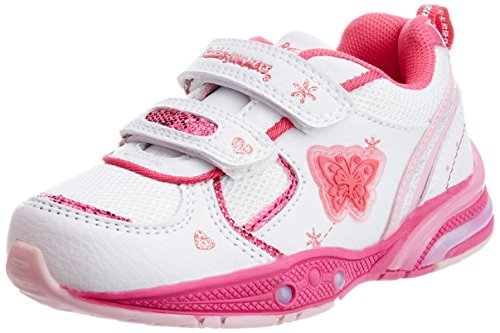 Bubblegummers Baby Girls Concept White First Walking Shoes - 7C UK (1111063)