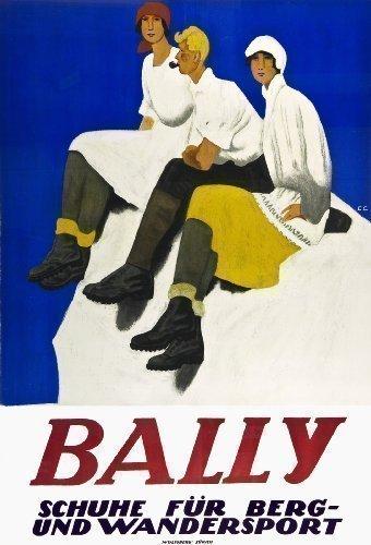 bally-zapatos-de-suiza-rara-de-la-publicidad-de-cartel-grande-1927
