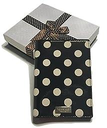 Kate Spade Imogene Carlisle Street Polka Dot Passport Holder Case WLRU2415 with Bagity Gift Box