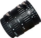 Auto Focus Macro Extension Tube Set for Canon EOS Digital SLR - Set of three Macro Extension Tubes: 13 mm, 21 mm, 31 mm - for Canon EOS 1000D 550D 500D 600D 450D 400D 350D 300D 60D 50D 40D 30D 20D 10D 7D 5D 5D Mark II 1D 1Ds 1D Mark II 1Ds Mark II 1D Mar