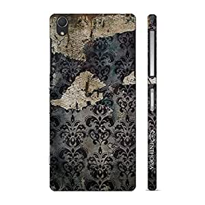 Enthopia Designer Hardshell Case OLD GRUNGE WALL Back Cover for Sony Xperia Z2