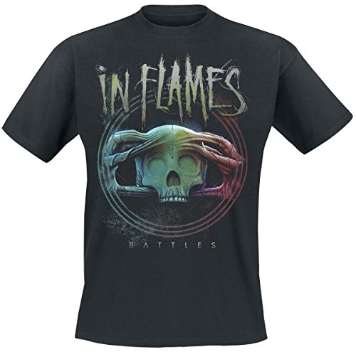 IN FLAMES -  T-shirt - Uomo Black Small