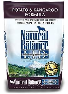 Dick Van Patten's Natural Balance L.I.D. Limited Ingredient Diets Potato and Kangaroo Dry Dog Food, 6/4-Pound