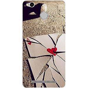 Casotec Broken A Card Design 3D Printed Hard Back Case Cover for Xiaomi Redmi 3S Prime