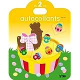 Le Plaisir de Coller : Dès 2 ans - Pâques (oeuf, chocolat, lapin, cloche)