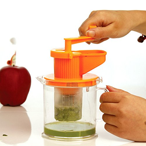!!!Make Good Health!!! Manual Juicer Hand Powered Can Use With, Wheatgrass, Fruit, Citrus Mini Healthy Juice Squeezer to the Health of Those You Love.(buy It Now)