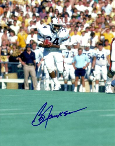 Bo Jackson Autographed Signed Auburn Heisman 8x10 Photo - (Mint Condition) - COA at Amazon.com