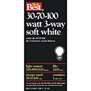 GE Private Label97456Do it Best 3-Way Bulb-30-100W SW 3-WAY BULB