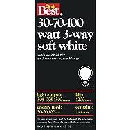 GE Private Label 97456 Do it Best 3-Way Light Bulb-30-100W SW 3-WAY BULB