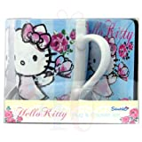 Hello Kitty - Mug & Coaster Set - Vintage Blue Rose