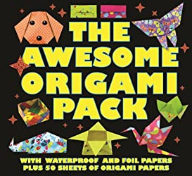 The Awesome Origami Pack: With 50 Sheets of Origami Paper, Plus Waterproof and Foil Papers