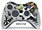 Protective Skin for XBOX 360 Remote Controller - North Star Silver