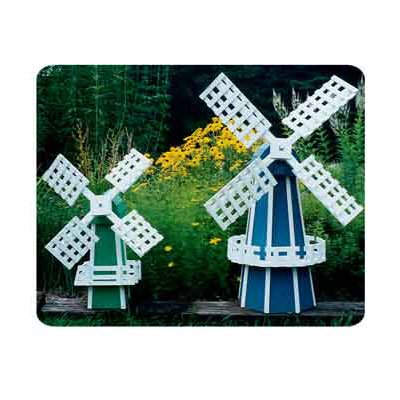 Garden Windmill 2 Pack Plans (Woodworking Project Paper Plan)