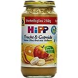 Hipp Feiner Obst-Brei mit Vollkorn, 6-er Pack (6 x 250 g) - Bio