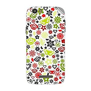 Garmor Designer Mobile Skin Sticker For XOLO Q700S - Mobile Sticker