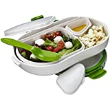 Lakeland Leak-Proof Lunch Box with Compartments Large 900ml