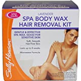 51zji2SHmTL. SL160  Sally Hansen Lavendar Spa Wax Hair Removal Kit for Body Legs Arms and Bikini