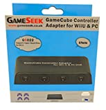Cheapest GameSeek Mayflash GameCube Controller Adapter for Wii U and PC on Nintendo Wii U