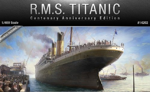 Academy R.M.S. Titanic Model Kit, Centenary Edition