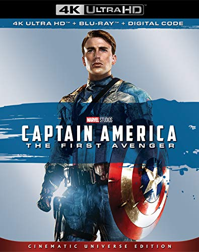 4K Blu-ray : Captain America: The First Avenger (With Blu-ray, 4K Mastering, Digital Copy, Dolby, AC-3)
