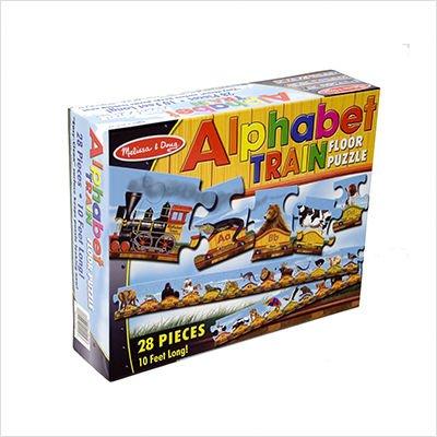 Cheap Melissa & Doug Alphabet Train Floor (28 pc) (B001RC5D0M)