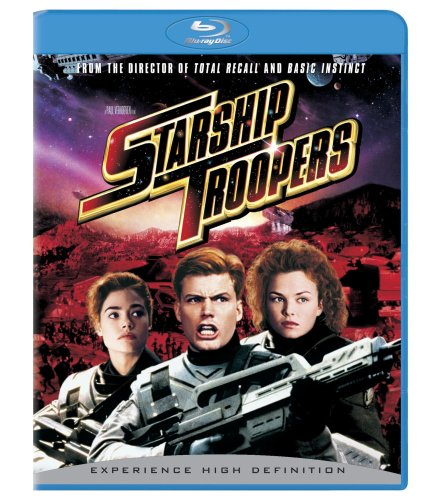 Starship Troopers (+ BD Live) [Blu-ray] with Patrick Muldoon, Mr. Media Interviews