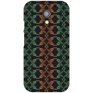 Moto G 2nd Gen colorful Phone Cover - Matte Finish Phone Cover