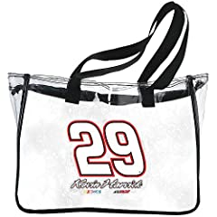Kevin Harvick (#29) Clear Tote Bag by R R Imports