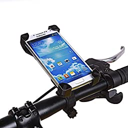 Bike Mount Universal Bicycle Phone Holder Cycle Adjustable Cradle Handlebar Roll Bar For Smartphone iPhone GPS