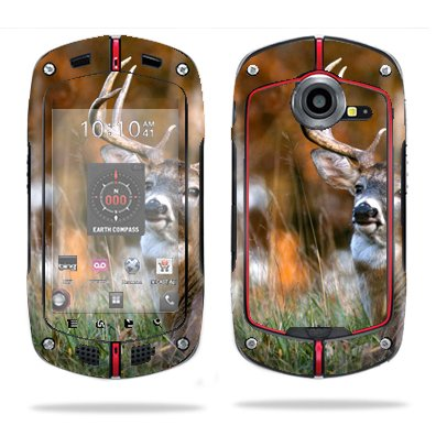 Purchase Protective Vinyl Skin Decal Cover for Casio G'zOne Commando C711 B GzOne Sticker Skins Deer