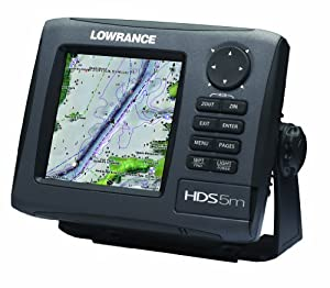 Lowrance HDS-5M Gen2 Nautic Insight Chartplotter by Lowrance