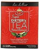 Laci Le Beau Super Dieter's Tea, All Natural Botanicals, 60-Count Box (Pack of 2)