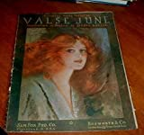 img - for VALSE JUNE HESITATION OR BOSTON book / textbook / text book