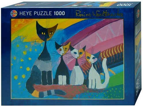 Puzzle Wachtmeister, Under the rainbow - 1000