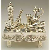 Sterling Silver Purim Table