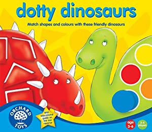 Dotty Dinosaurs by Orchard Toys
