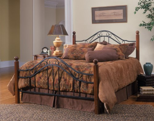 Hillsdale Furniture 1010BQR Madison Bed Set with Rails Queen