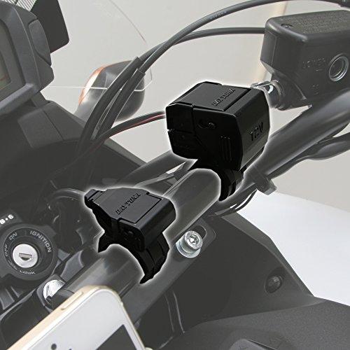 デイトナ(DAYTONA) 【バイク専用電源】 USB&シガーソケット POWER SUPPLY 【USB1ポート&シガーソケット1ポートタイプ】 79003