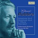 Edmund Rubbra : Symphonies n°3 & 4 / Tribute / Overture Resurgam